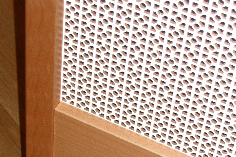 DekoPerf - Dekorative Loch-Platten